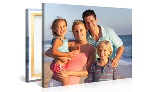 "One Or Two 20""x16"" Canvas Portraits With Free Shipping From Canvasonsale (up To 75% Off)"