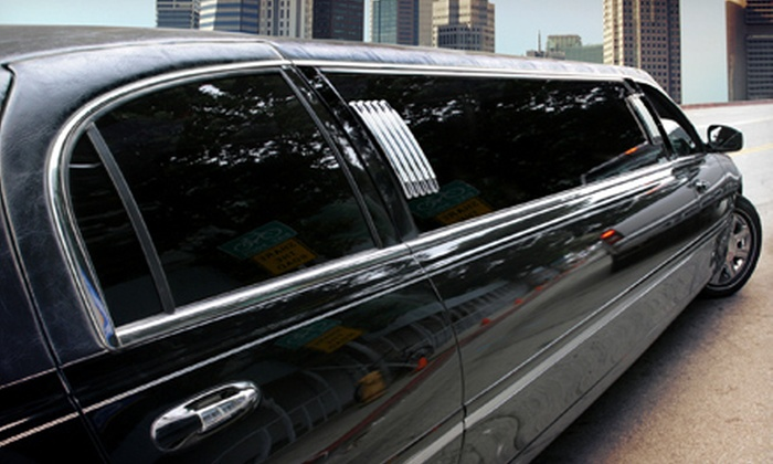 Diplomat Airport Transportation, Inc. - Tampa Bay Area: Three-Hour Limo Ride for Up to 10 with Champagne from Diplomat Airport Transportation, Inc. (Up to 70% Off). wo Options Available.
