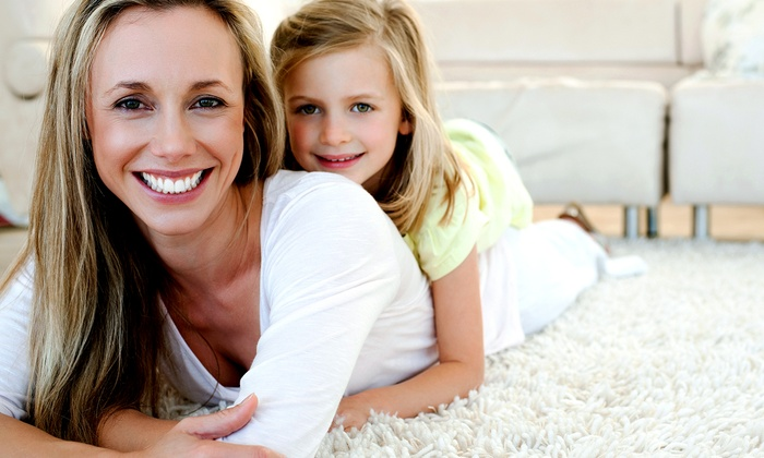Brighter Image Cleaning Service - Clarendon: $49 for Carpet Cleaning for Two Rooms from Brighter Image Cleaning Service ($105 Value)
