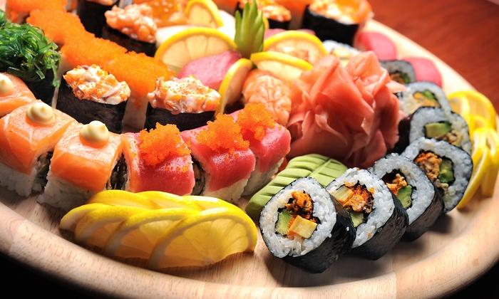 Matua's Sushi Bar & Islander Grill - Central Chula Vista: Asian and Pacific Island Cuisine for Two or Four or More at Matua's Sushi Bar & Islander Grill (45% Off)