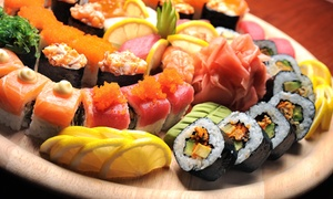 Matua's Sushi Bar & Islander Grill: Asian and Pacific Island Cuisine for Two or Four or More at Matua's Sushi Bar & Islander Grill (45% Off)