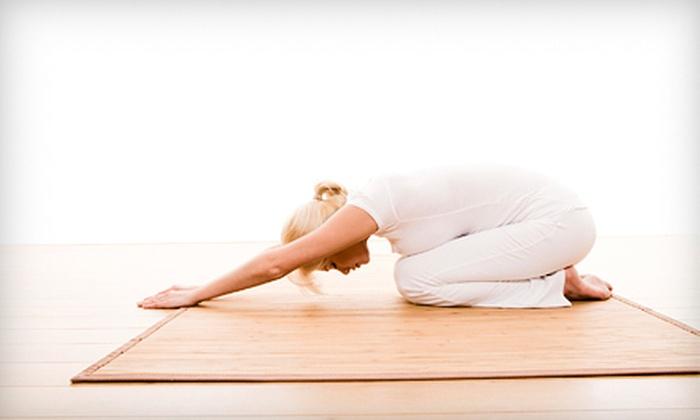 Navarre Living Yoga - Pensacola Beach: 10 or 20 Hot-Yoga Classes at Navarre Living Yoga (Up to 59% Off)