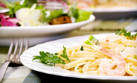 Dinner for Two or Four, Valid Sunday–Thursday or Friday and Saturday at Gianni's Ristorante & Pizzeria (Up to 57% Off)