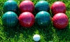 Bocce Ball Set with Carrying Bag (9-Piece): Bocce Ball Set with Carrying Bag (9-Piece)