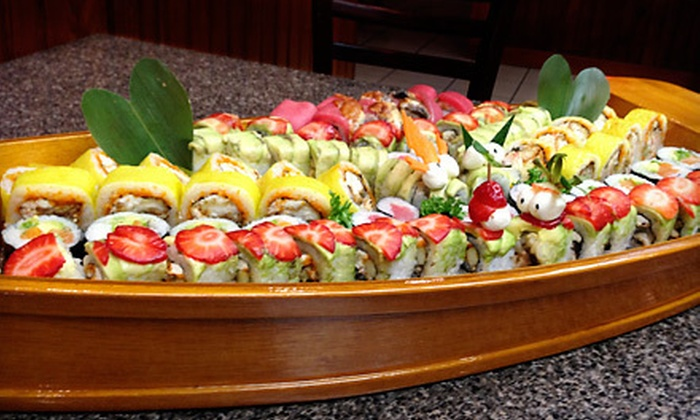 Sushi Mentai - Pembroke Pines: Japanese and Thai Cuisine at Sushi Mentai (Up to 58% Off). Two Options Available.