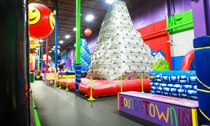 Bounce House Admission Or Birthday Party Package At Bounce Town Usa (up To 33% Off)