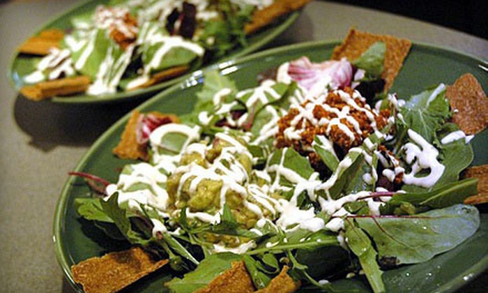 Raw Vegan Cafe - Lockport: $12 for $25 Worth of Vegan Food at Raw Vegan Cafe