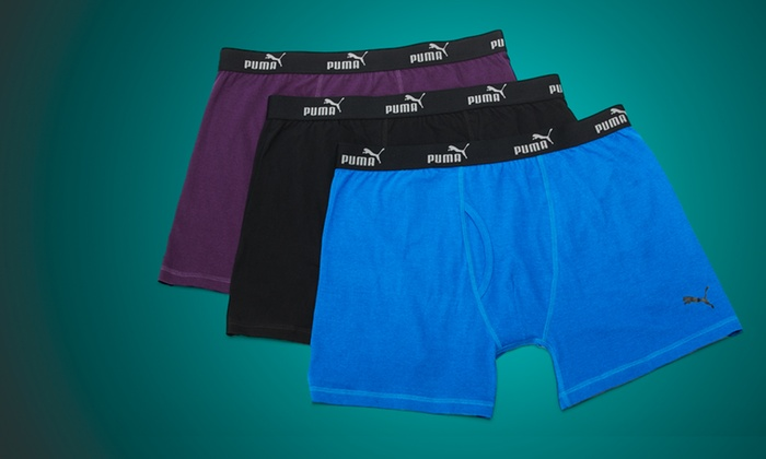 Puma: $19 for a 3-Pack of Puma Men's Boxer Briefs ($28 List Price). Multiple Colors Available. Free Shipping.
