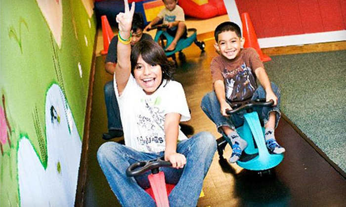 The Awesome Playground - Highland Park: 5 or 10 Indoor-Playground Visits at The Awesome Playground  (Up to 57% Off)