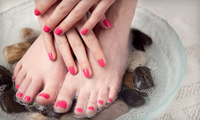 Perfect Design Nail Salon - Branham - Kirk: Regular or Deluxe Mani-Pedi at Perfect Design Nail Salon (Half Off)