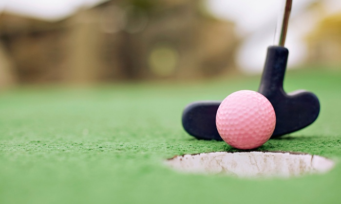 Rockwood Golf Park - Midlothian: Mini Golf for Two or Four, 24 Batting-Cage Tokens, or 8 Driving-Range Tokens at Rockwood Golf Park (Up to 54% Off)