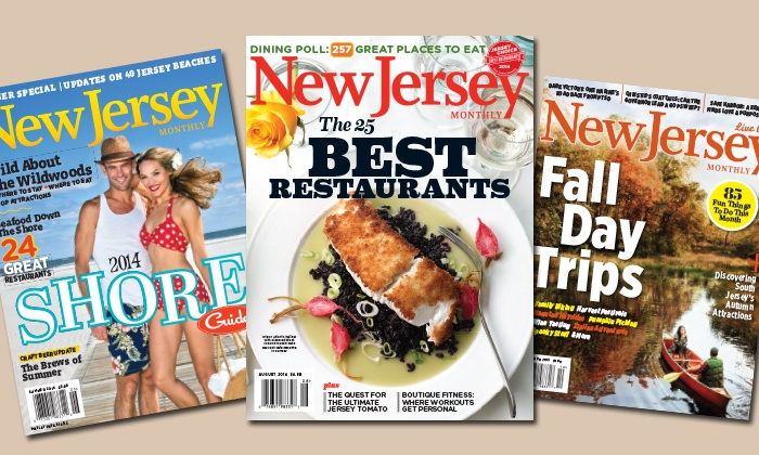 """_New Jersey Monthly_: $9 for a 12-Month Subscription to """"New Jersey Monthly"""" Magazine ($19.95 Value)"""