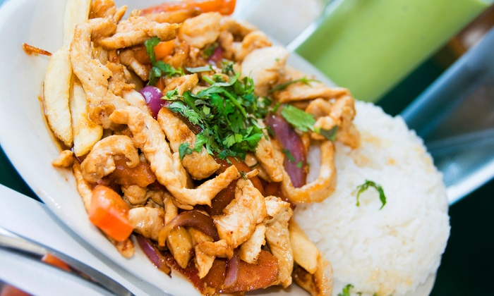 Pio Pio - Multiple Locations: $20 for Two Groupons, Each Good for $20 Worth of Peruvian Food at Pio Pio ($40 Total Value). Two Locations Available.