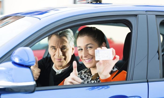 Best Way Driving School - Fairmont - Claremont Village: One Interactive Lesson at Best Way Driving School (50% Off)