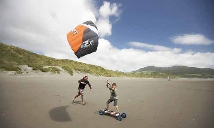 Okkite - Multiple Locations: $89 for a Private Two-Hour Intro Kiteboarding Land Lesson from Okkite ($199 Value)