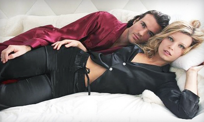 Intimo Mineola: Men's and Women's Pajamas and Lounge Apparel from Intimo's Online Shop (Up to 60% Off). Two Options Available.