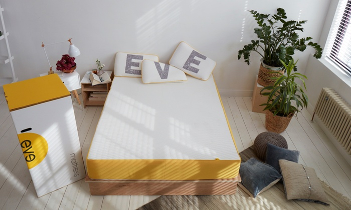 Eve Matelas Memoire De Forme Groupon Shopping