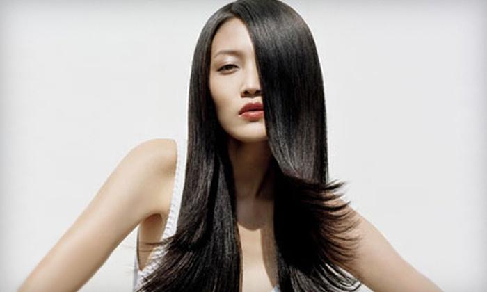 Inspiritu Aveda Salon - Poulsbo: Haircut Packages with Optional Color, Highlights, or Makeup at Inspiritu Aveda Salon (Up to 59% Off)