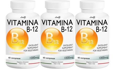 Jusquà 6 mois de cure de Vitamines B12, compléments alimentaires