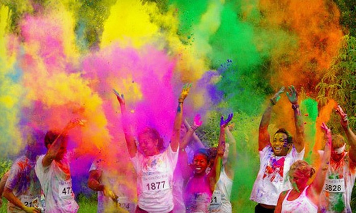 The Graffiti Run - Greater Third Ward: The Graffiti Run for One, Two, or Four on December 2 (Up to 54% Off)