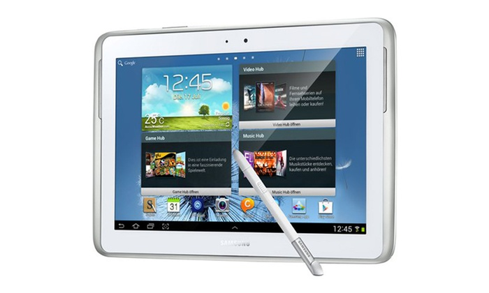 "Samsung Galaxy Note 10.1"" 16GB Tablet with S-Pen: $269.99 for Samsung Galaxy Note 10.1"" Tablet (Refurbished) ($499.99 List Price). Free Shipping and Returns."