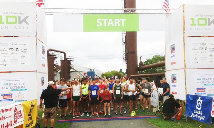 Seattle Marathon Association - Gasworks Park: $35 for One Registration for the Seattle Marathon 10K Run + Walk on Saturday, August 22 ($45 Value)