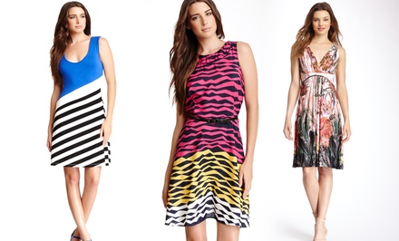 Women's Printed Dresses. Multiple Styles Available.