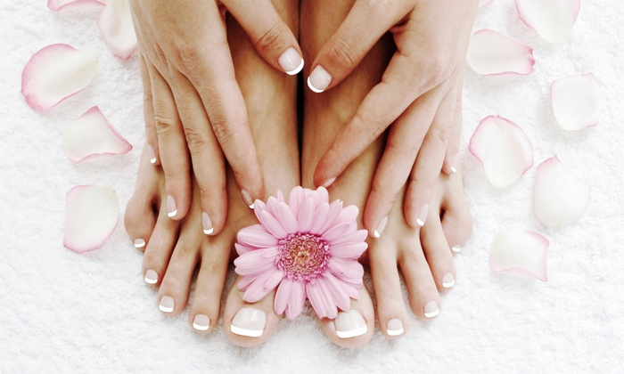Barbara Gray at Sunset Salon & Spa - Calera: One or Two Mani-Pedis form Barbara Gray at Sunset Salon & Spa (Up to 51% Off)