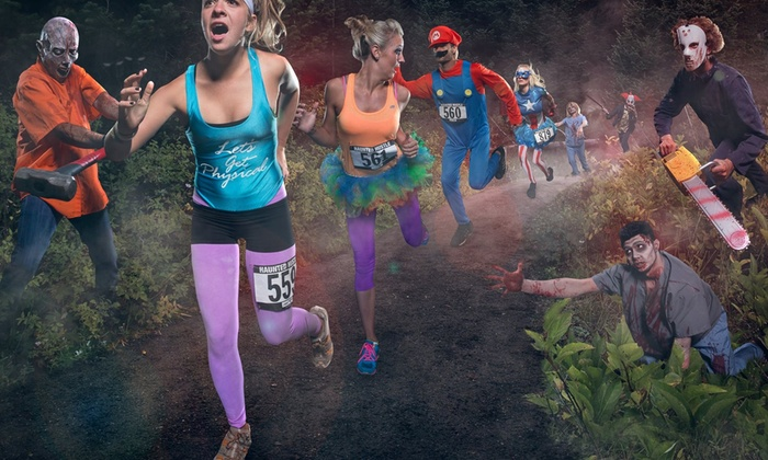 Haunted Hustle - Sugar House Park: Haunted Hustle Registration for One or Two from Haunted Hustle (Up to 44% Off)