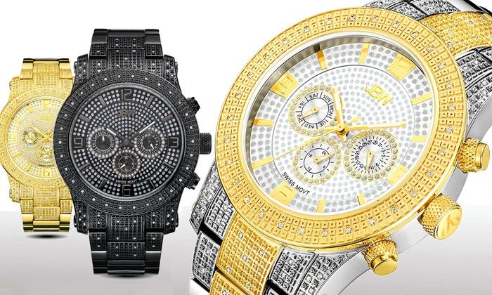Verbazingwekkend JBW-horloges met diamanten | Groupon QO-73