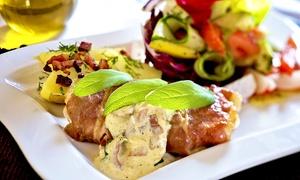 L`Olivastro Restaurant & Vinothek: Italienisches 3-Gänge-Mittagsmenü für 1 oder 2 Personen im L'Olivastro Restaurant & Vinothek (bis zu 32% sparen*)