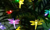 Pack de 20 libélulas solares LED para decorar