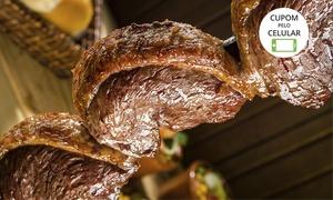 Los Pampas Churrascaria e Pizzaria – Anápolis: Los Pampas Churrasacaria e Pizzaria– Anápolis:rodízio de churrasco com buffet completo no almoço ou jantar para 1 pessoa