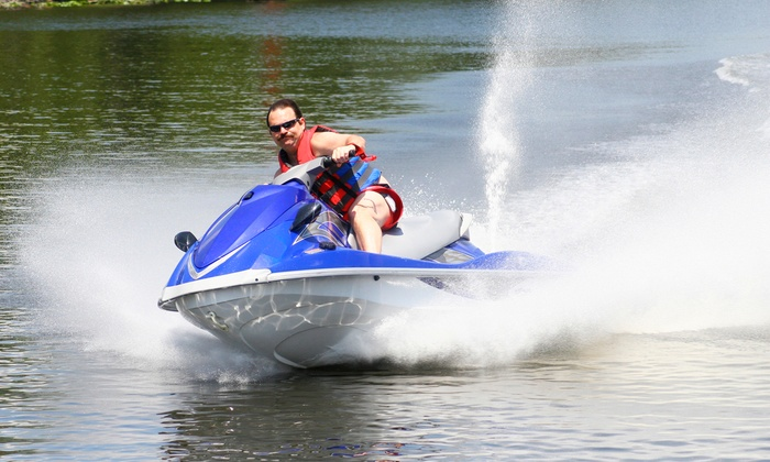 Fun Rentals - Willis: Two- or Three-Hour Yamaha WaveRunner Rental from Fun Rentals (Up to 56% Off)