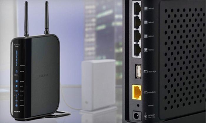 belkin n+ router