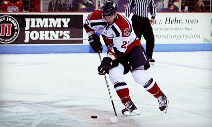 South Carolina Stingrays - North Charleston: South Carolina Stingrays Game at North Charleston Coliseum (Up to 54% Off). Six Options Available.