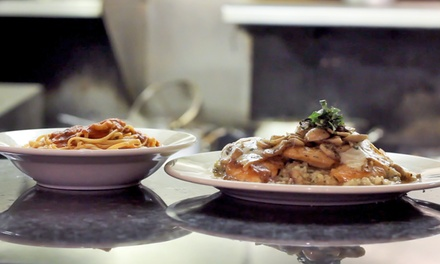 Italian Dinner at La Vita Mia (Up to 52% Off). Two Options Available.