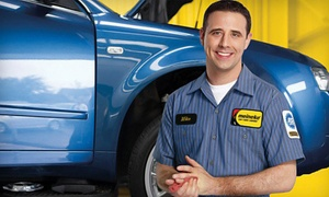 Meineke Car Care Center: One or Three Oil Changes with 23-Point Inspection and Tire Rotation at Meineke Car Care Center (Up to 44% Off)