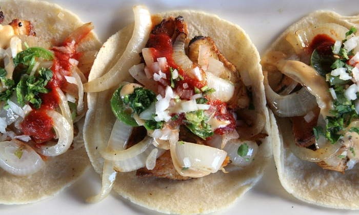 Barrio Star - Bankers Hill: Tacos and Margaritas for Two or Four or $11 for $20 Worth of Breakfast or Lunch at Barrio Star