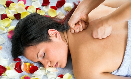 Aromatherapy Massage with Salt and Body-Glow Treatment and Option for Reflexology at Massage by Judy (Up to 60% Off)