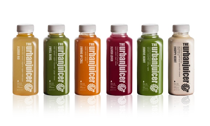 The Urban Juicer - Multiple Locations: $95 for a Three-Day Juice Cleanse at The Urban Juicer ($135 Value)