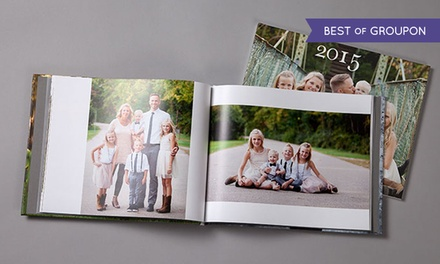 20- or 30-Page Custom Classic or Deluxe Photo Book from MyPublisher (Up to 80% Off)