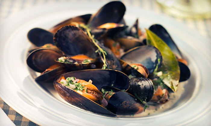 Blend Wine & Tapas - Hauppauge: Mussels and Wine for Two or $20 for $40 Worth of Small Plates and Wine at Blend Wine & Tapas