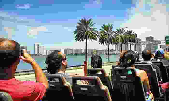 Big Bus Tours - Big Bus Tours Miami: 24 or 48 Hours of Hop-On, Hop-Off Miami Sights Bus Touring from Big Bus Tours (Up to 51% Off)