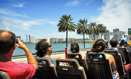Hop-On, Hop-Off Miami Bus Tour from Big Bus Tours (Up to 47% Off) d0f522cd-0dee-4599-839c-9e6475b79fe7