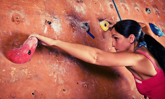 Vertical Adventures - Winnipeg: Day of Rock Climbing, One-Month Membership, or 10 Visits to Vertical Adventures (Up to 55% Off)