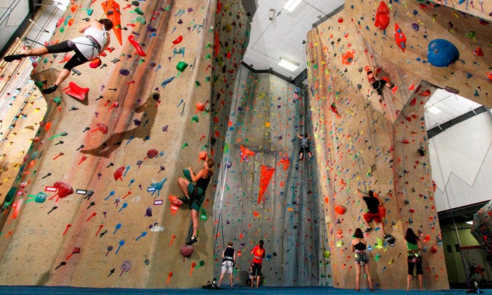 Upper Limits Rock Gym - Multiple Locations: Indoor Climbing Class for Two, or a Private Birthday Party at Upper Limits Rock Climbing Gym (Up to 47% Off)