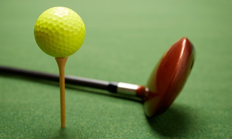 Three 9- or 18-Hole Rounds of Virtual Golf for One at The Dome Sports Center (Up to 48% Off)