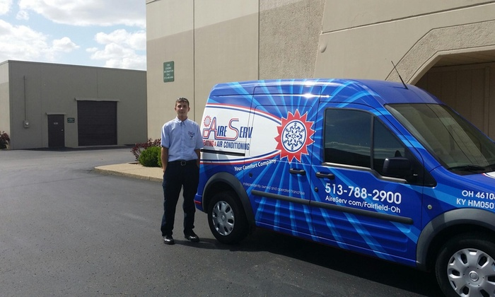 Aire Serv Of Fairfield - Cincinnati: HVAC Cleaning and Inspection from Aire Serv of Fairfield (49% Off)