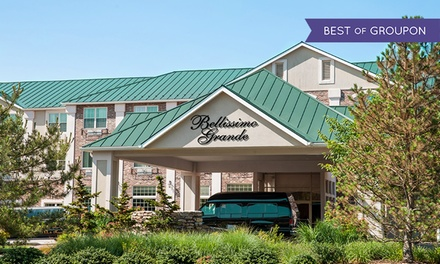 Stay with Shopping Voucher at Bellissimo Grande Hotel in North Stonington, CT. Dates into April.